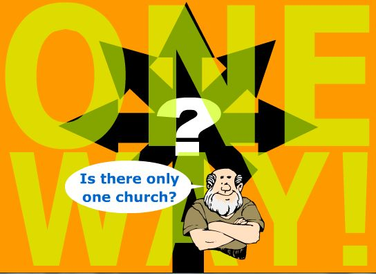 What does the Bible say about one church